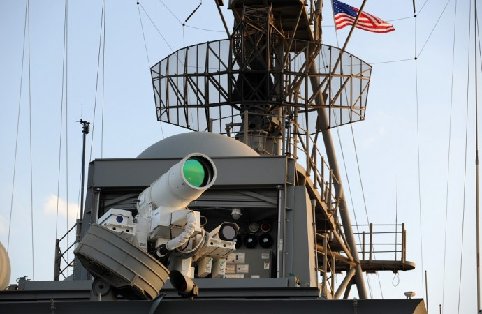 Real Laser Cannon